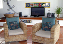 Secret Beach Fish Villa Playa del Carmen Vacation Home; catch up on what's happening back at home with ABC/NBC/CBS/FOX nightly news.
