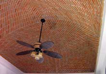 Secret Beach Villas Playa del Carmen Vacation Home; with Cupula Ceilings that naturally cool the villas if you perfer not to use the A/C.