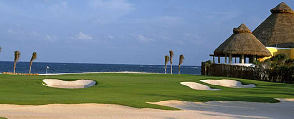 Designer Golf Cources in the Mayan Riveria